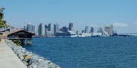 San Diego Bay View From Harbor Island Panoramic Virtual Tour